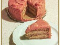 Eszterházi diós torta